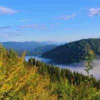 Ясное утро, а в долине туман :: Сергей Чиняев