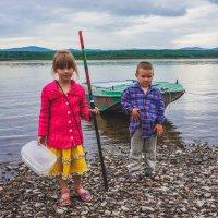 Юные рыбаки! :: Ирина Антоновна