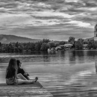 НазваниеEvening at the lake :: Dmitry Ozersky