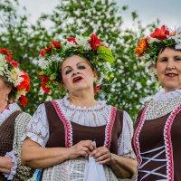 В деревне на празднике :: Валерий Симонов