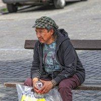 Одинокий мужичок :: Владимир Леликов