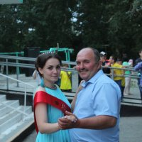 папа с дочкой :: игорь