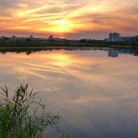 вечер над озером :: Александр Прокудин