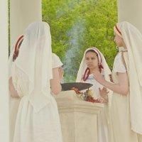 Фимиам во славу богов :: Sergey Burlakov