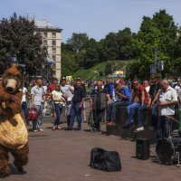 Уличный музыкант. :: Svetlana