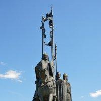 Монумент «Ледовое побоище» на горе Соколиха. :: bajguz igor