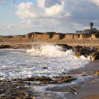 Берег около института моря в Хайфе, Израиль :: raven owle