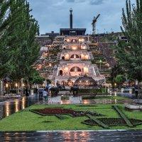 Армения. Ереван. Вид на Каскад :: Борис Гольдберг