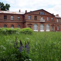 Господский дом в бывшей усадьбе Олениных Приютино (предположительно, арх. Львов, 1799-1820 г.г.) :: Елена Павлова (Смолова)
