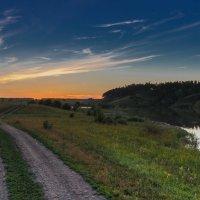 Дорога в закат :: Mikhail Andronikov