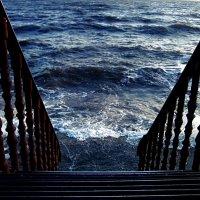 Лестница в море! :: Наталья