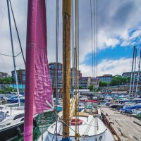 Владивосток, набережная, яхт клуб 7 футов :: Эдуард Куклин