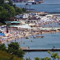 море, пляж, жара, июнь... :: Александр Корчемный