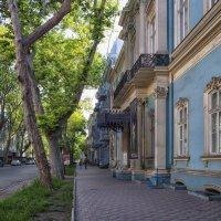 Просыпающийся город,- Пушкинская, у дворца Абазы. :: Вахтанг Хантадзе