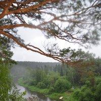 Река Чусовая. Вид с камня Часовой. :: Михаил Новожилов