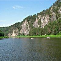 На уральской реке Чусовая :: Leonid Rutov