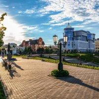Летний вечер в Тамбове............... :: Александр Селезнев