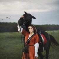 Я с конём вдвоём ... :: Roman Sergeev