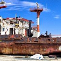 Как уходят, пароходы... :: Вахтанг Хантадзе