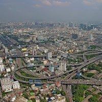 Бангкок с высоты птичьего полёта!!! :: Вадим Якушев