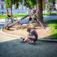 В летнем тенечке... :: Вахтанг Хантадзе