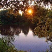 Закатной негой светится река... :: Лесо-Вед (Баранов)