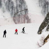 Горнолыжный курорт :: Валерий Ткаченко