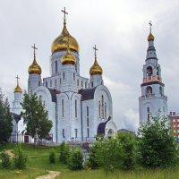 Церковь Воскресения Христова в Ханты-Мансийске :: Олег Петрушов