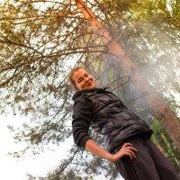 Закат на Селигере :: Антон Орловецкий