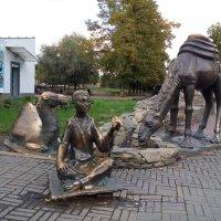 Мальчик с верблюдами :: Марина Шанаурова (Дедова)