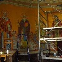 В храме идут реставрационные работы :: Андрей Лукьянов