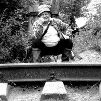 Вот, сижу, поезда жду... :: Marina Bernackaya Бернацкая