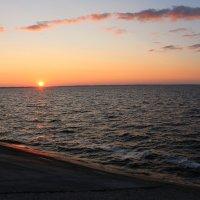 Закат на Горьковском  море :: Ольга НН