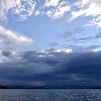 Небо над Озером.. :: Дмитрий Петренко