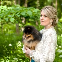 Ещё одна дама с собачкой. :: Александр Лейкум