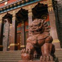 Буддийский храм в Санкт-Петербурге :: Андрей Липов