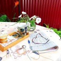 Утренний кофе с судоку... :: Тамара (st.tamara)