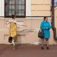 О воздушных созданиях и земной реальности :: Татьяна Копосова