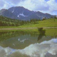 Алтайское озеро. :: Марина Домосилецкая