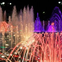 Цвето-музыкальный фонтан в Царицыно :: НАТАЛИ natali-t8