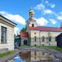 Церковь Пантелеймона-целителя :: Елена Гуляева (mashagulena)
