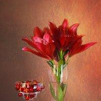 С лилиями и вишней. :: alfina