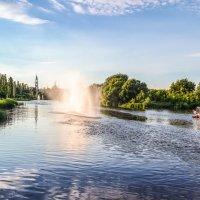 Летний день на реке Цне............. :: Александр Селезнев