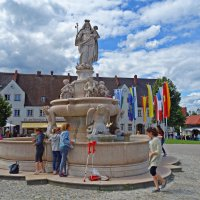 Альтёттинг – место паломничества для поклонения чудотворной статуе Девы Марии- Бавария... :: Galina Dzubina