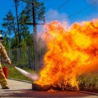 укрощение огня... :: Дмитрий Сиялов