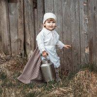 Маленькая молочница :: Любовь Махиня