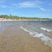 Летний пляж :: Роман Кудрин