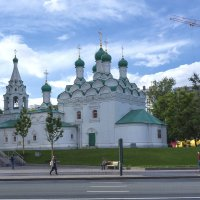 Храм преподобного Симеона Столпника на Поварской :: Андрей Шаронов