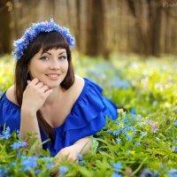 весенний портрет :: Мадина Скоморохова