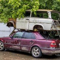 Когда в машине не хватает места всем. :: Анатолий. Chesnavik.